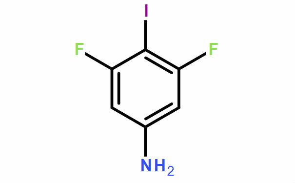 3,5-二氟-4-碘苯胺 (CAS No.:1542-34-3)