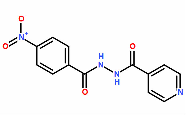 1-[4-硝基苯甲酰]-4-羧基吡啶基酰肼