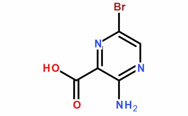 3-氨基-6-溴吡嗪-2-甲酸(CAS No.:486424-37-7)
