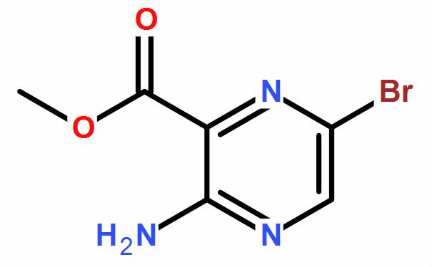 3-氨基-6-溴吡嗪-2-甲酸甲酯(CAS No.:6966-01-4)